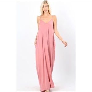 Dresses & Skirts - 🔜💓 Dusty Rose Oversized Cocoon Maxi Dress